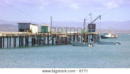 Bahia Tortuga Pier