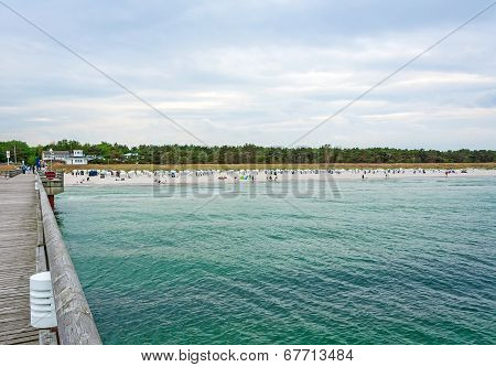 Beach In Prerow