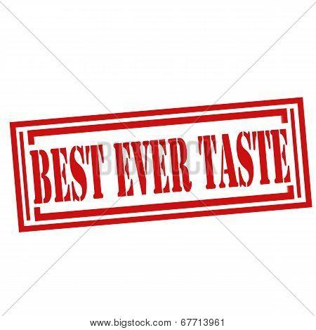 Best Ever Taste-stamp