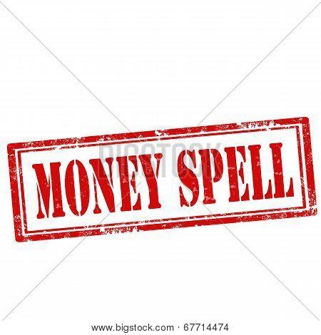 Money Spell-stamp