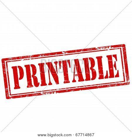 Printable-stamp