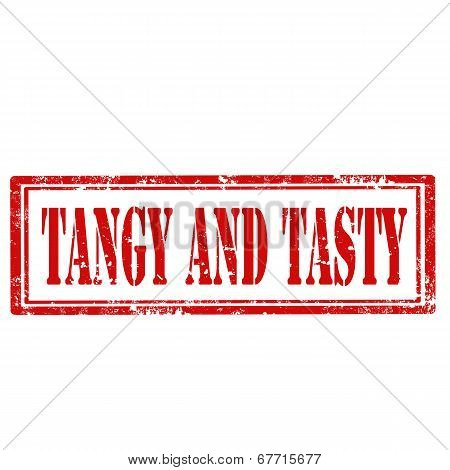 Tangy And Tasty-stamp
