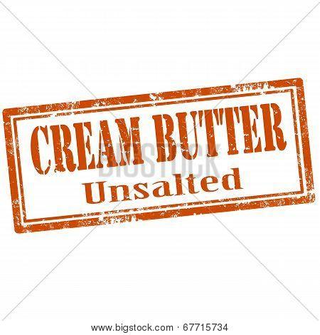Cream Butter-stamp