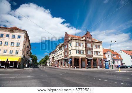 Klaipeda city center