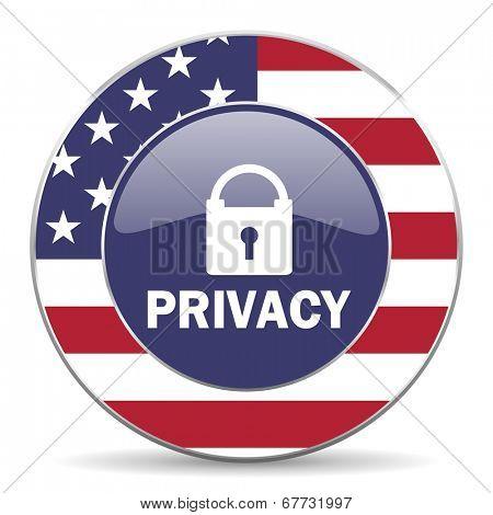 privacy american icon