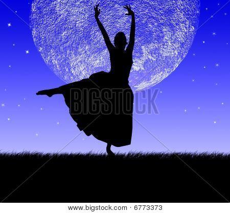 Dança e Lua