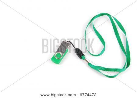 Green Pen Drive