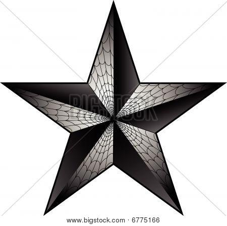5 Point Star Tattoo