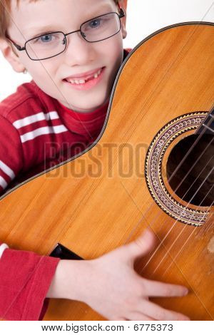 Cute Boy With A Guitar,
