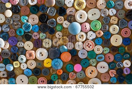 Fashion Buttons poster