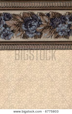 1920's Flapper Era Colorful Wall Paper Background