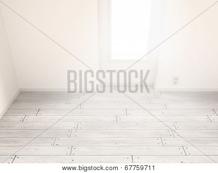 Illuminated Interior Background