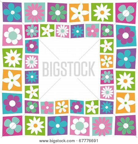 cute flowery border