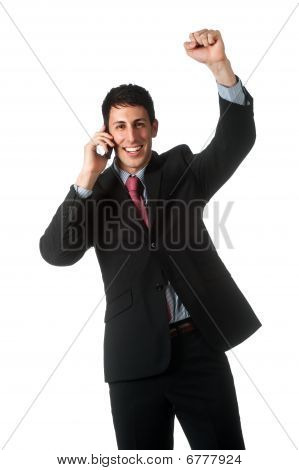 Businessman With Phone