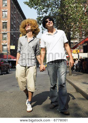 Men In Wigs