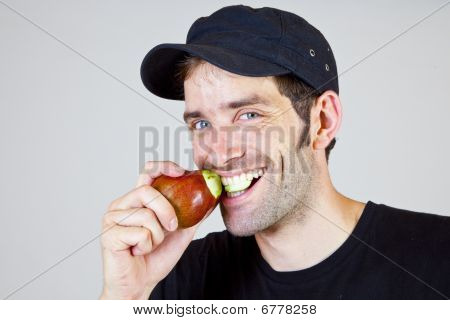 Holding A Pear