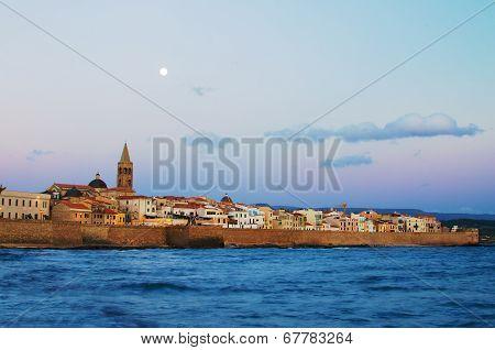 Old Town of Alghero, Sardinia Island, Italy