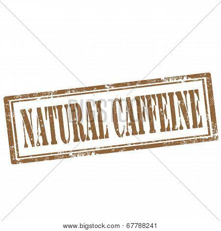 Natural Caffeine-stamp