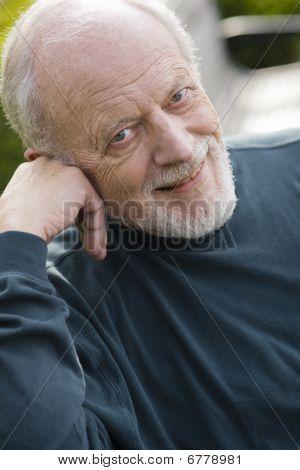 Smiling Old Man