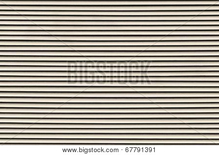 Fragment Of The Painted Blinds Beige Color