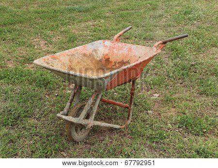Old Wheelbarrow