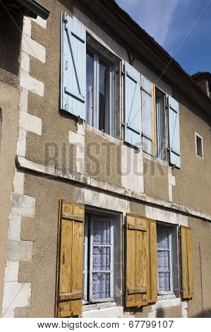 Architecture Of Auxerre, Yonne, Bourgogne, France