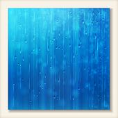 picture of rainy day  - Blue shiny rain - JPG