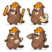 image of beaver  - Illustration - JPG
