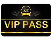 image of eminent  - Vip Pass Meaning Very Important Person And Eminence Important - JPG