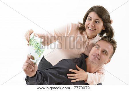 Happy Successful Couple