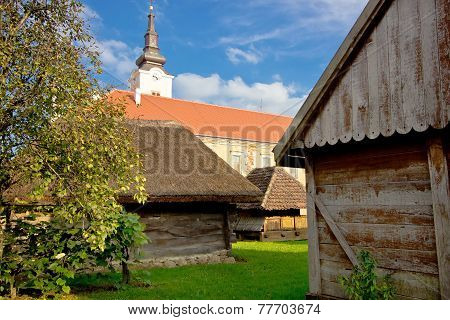 Town Of Krizevci Historic Cottages And Church