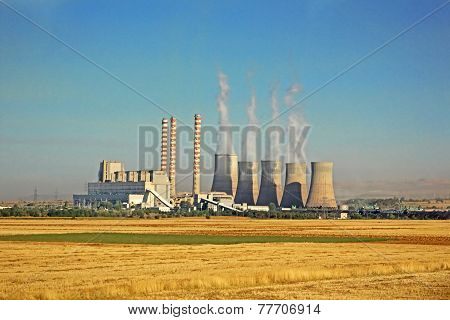 Power Plant In Greece