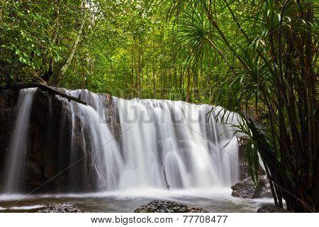 Suoi Tranh waterfalls in Phu Quoc, Vietnam