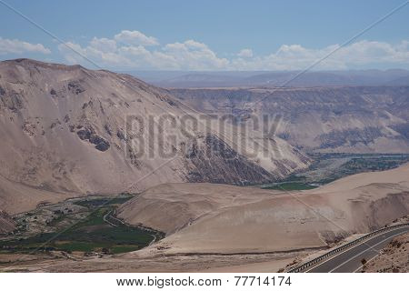 River Valley in the Desert