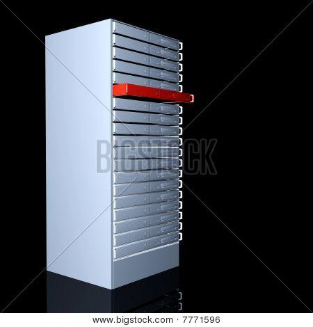 Pila de servidor de 19 pulgadas