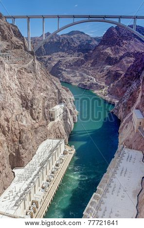 Hoover Dam Bypass Pat Tillman Memorial Bridge