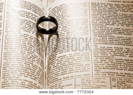 Ring On Book Of Mormon