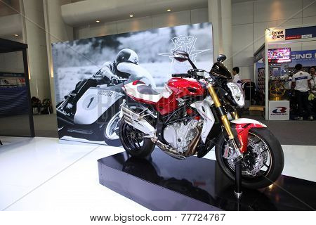 Bangkok - November 28: Agusta Corsa Motorcycle On Display At The Motor Expo 2014 On November 28, 201