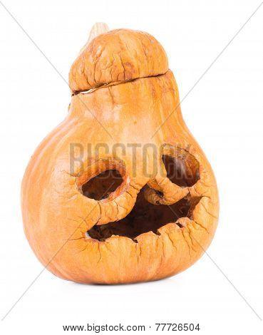 Old halloween pumpkin.