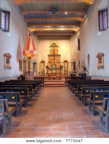 Interior Of San Diego Mission