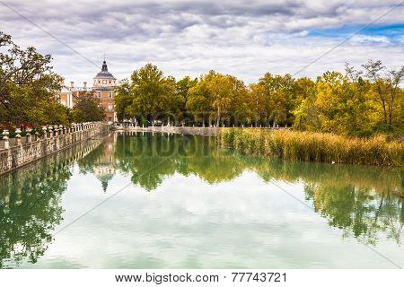 Royal Palace Of Aranjuez, A Residence Of The King Of Spain, Aranjuez, Community Of Madrid, Spain. Un