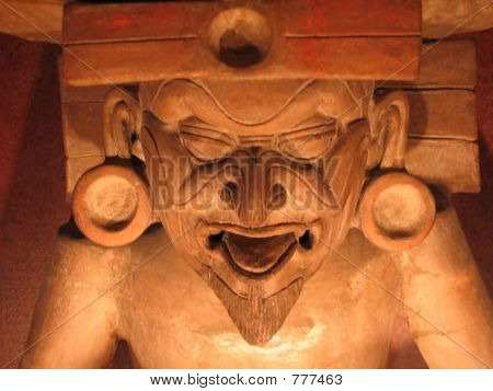Mayan God Of The Fire