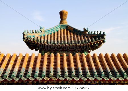 chinese decorative roof