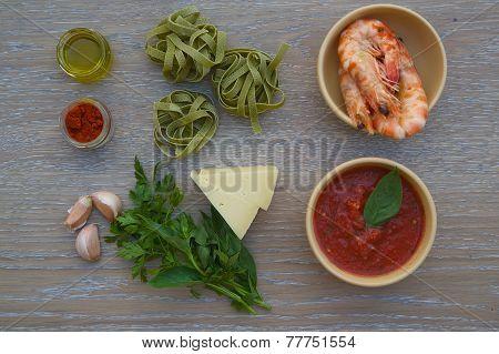 Food ingredients.Background