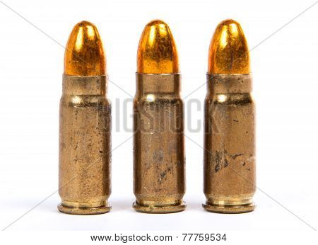 Three Ammunition For Firearms