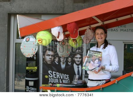 Roland Garros 2010 - Shopping Stand