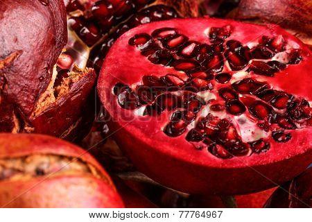 The Half Pomegranate