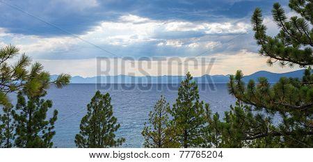 Lake Tahoe - Clearing Storm Over Lake