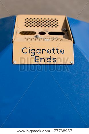 Public Ashtray - Cigarette Ends