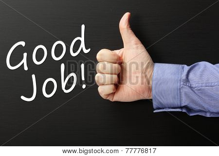 Thumbs Up for a Good Job!